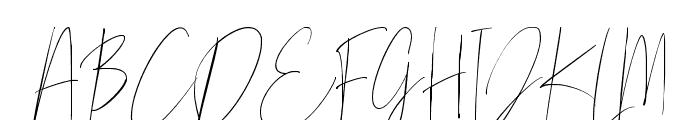 Mellati Script DEMO Regular Font UPPERCASE