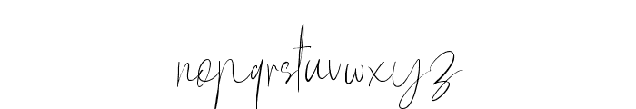 Mellati Script DEMO Regular Font LOWERCASE