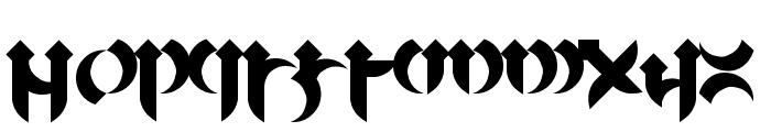 Mellogothic Font LOWERCASE