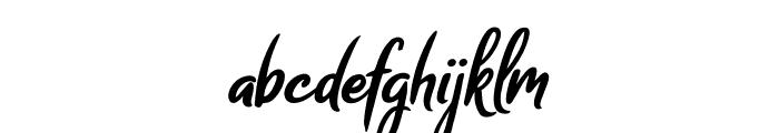 Melodya Chatrina Italic Font LOWERCASE
