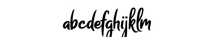 Melodya Chatrina Font LOWERCASE