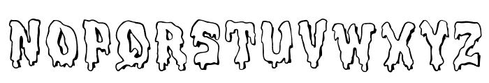MeltdownMF Font UPPERCASE