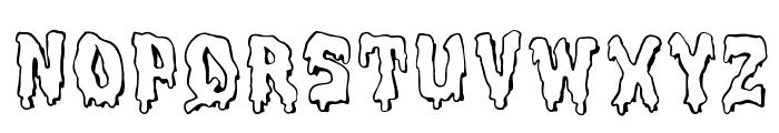 MeltdownMF Font LOWERCASE