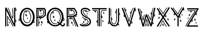 MeltingRegular Font UPPERCASE