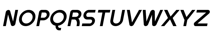 Meltix Bold Italic Demo Font UPPERCASE