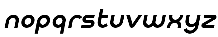 Meltix Bold Italic Demo Font LOWERCASE