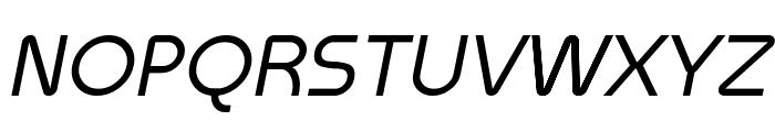 Meltix Italic Demo Font UPPERCASE