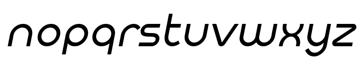 Meltix Italic Demo Font LOWERCASE