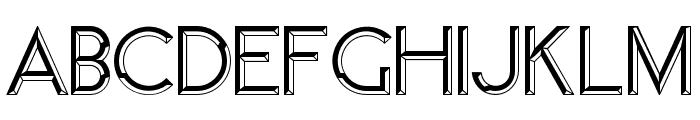 Member Regular Font UPPERCASE