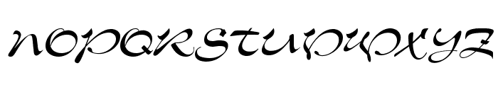 Memo Script SSi Font UPPERCASE