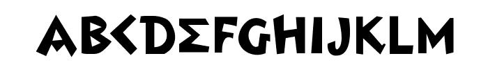 MendelsohnsTochter Font UPPERCASE