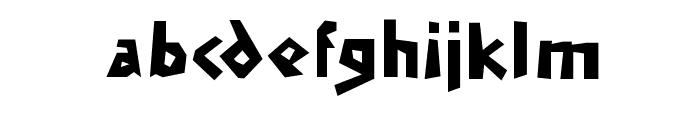 MendelsohnsTochter Font LOWERCASE