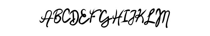 Mendy Font UPPERCASE