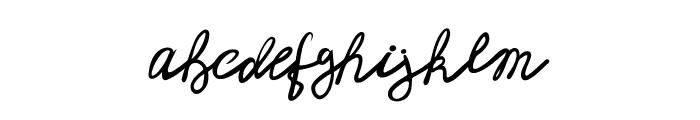 Mendy Font LOWERCASE