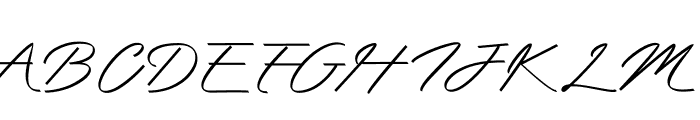 Mengkengs Font UPPERCASE