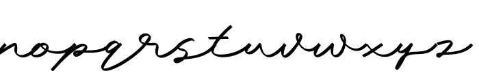 Mengkengs Font LOWERCASE