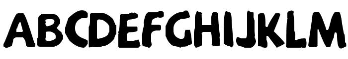 Menkaya Beta Font UPPERCASE