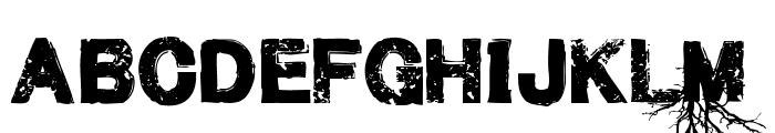 MenofNihilist-Regular Font UPPERCASE