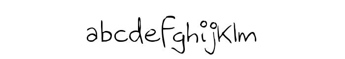 Menrath Antiqua Font LOWERCASE