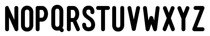 Mensch Bold Font UPPERCASE