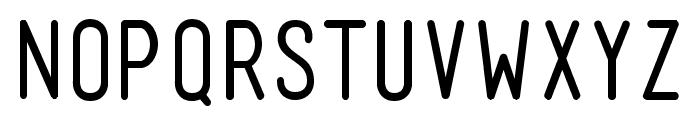 Mensch Regular Font UPPERCASE