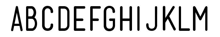Mensch Regular Font LOWERCASE