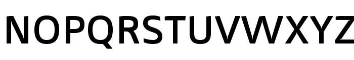 Mentone SemiBold Font UPPERCASE
