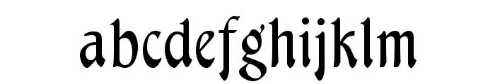 Menuetto Font LOWERCASE