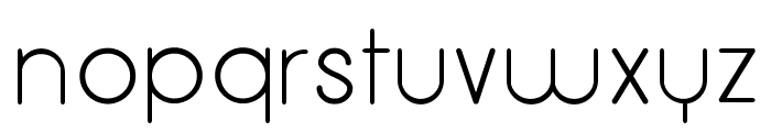 Menulis Font LOWERCASE