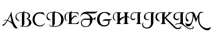 Merced Font UPPERCASE
