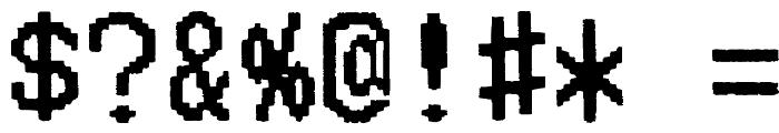 Merchant Copy Doublesize Font OTHER CHARS