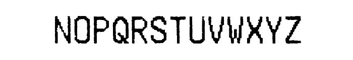 Merchant Copy Font UPPERCASE