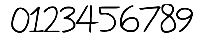 Mercles Regular Font OTHER CHARS