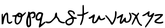 Mercles Regular Font LOWERCASE