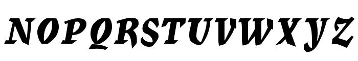 Mercurius Regular Font UPPERCASE