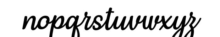 Mergic Italic Font LOWERCASE