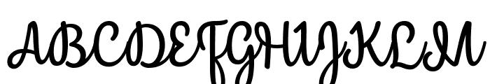 Mergic Font UPPERCASE