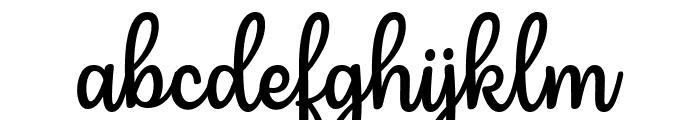 Mergic Font LOWERCASE