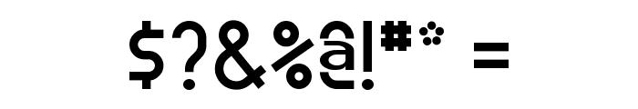 Meridiana Regular Font OTHER CHARS