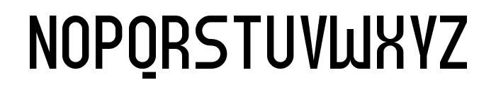 Meridiana Regular Font UPPERCASE