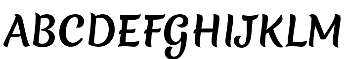 Merienda One Font UPPERCASE