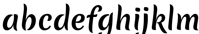 Merienda One Font LOWERCASE