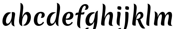 MeriendaOne-Regular Font LOWERCASE