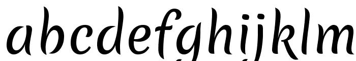 Merienda Font LOWERCASE
