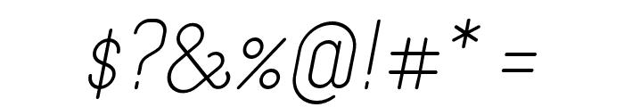 Merijntje Regular Italic Font OTHER CHARS