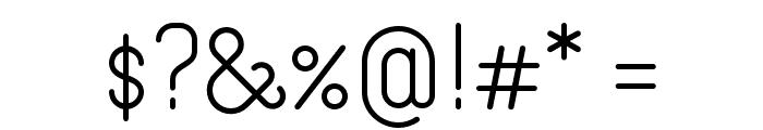 Merijntje SemiBold Font OTHER CHARS