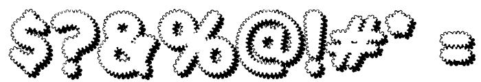 Merkin Foo Font OTHER CHARS