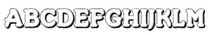 Merkin Foo Font UPPERCASE