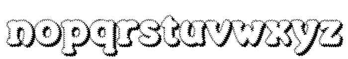Merkin Foo Font LOWERCASE