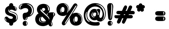 Merkin Goo Font OTHER CHARS